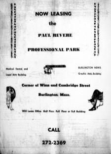 Paul Revere Professional Park, Burlington MA