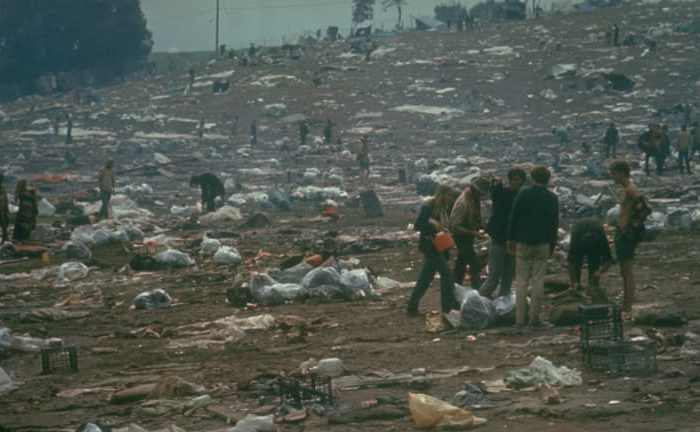 Woodstock mess