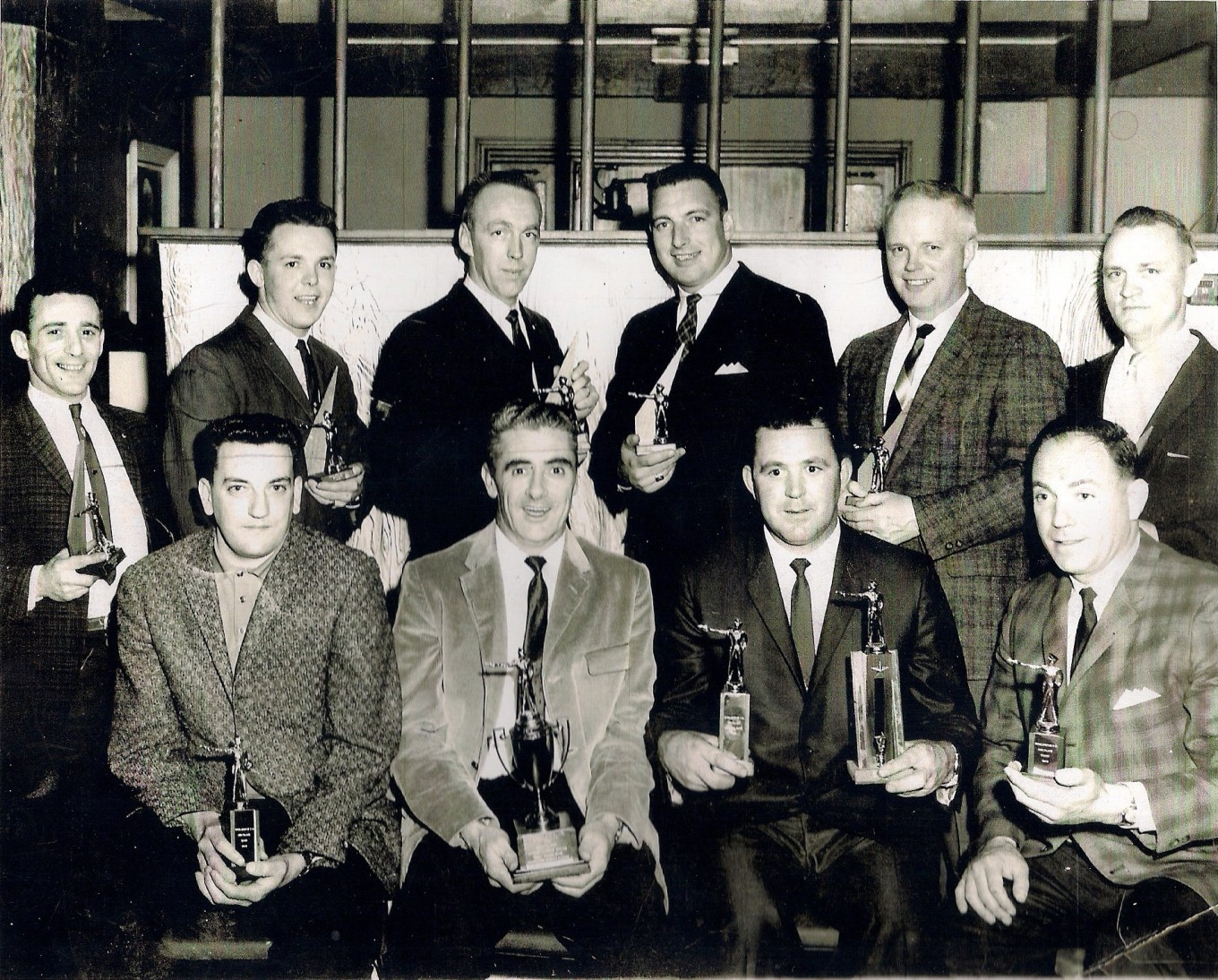 Burlington Police pistol team c. 1965, Burlington MA