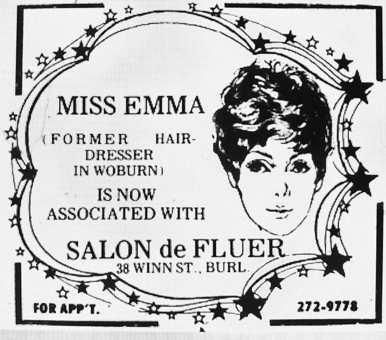 Miss Emma ad Salon de Fluer