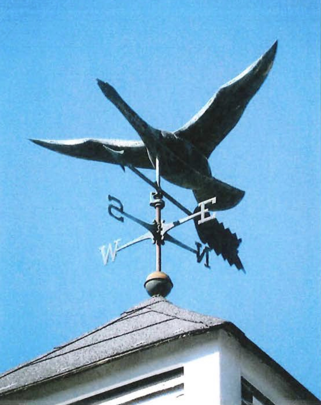 Stolen weathervane Reed Ham Works Burlington MA