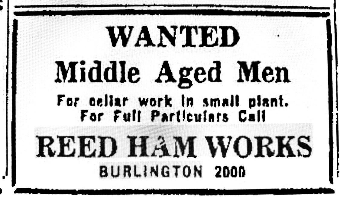 Reed Ham Works job ad