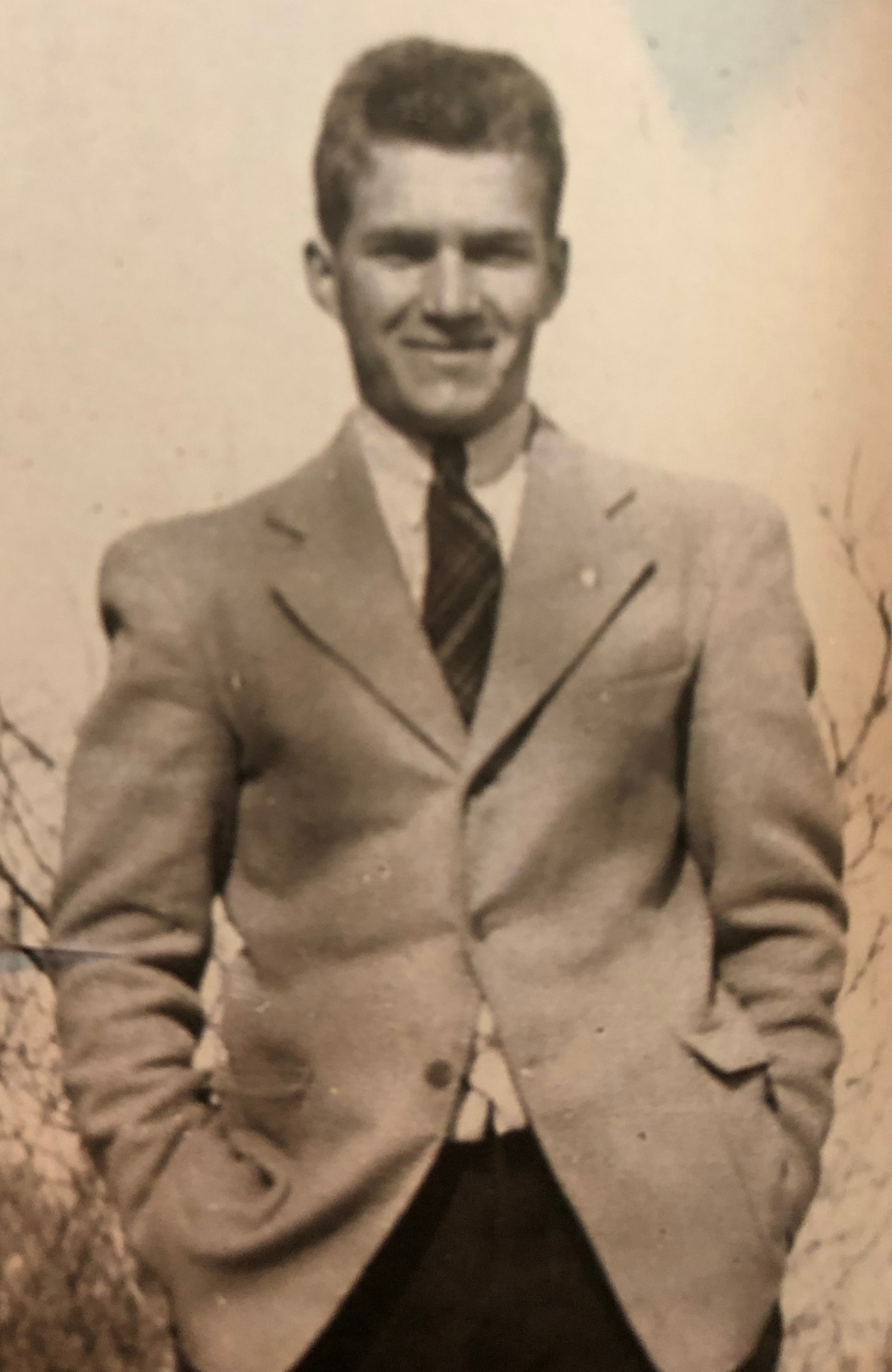 Herb Crawford in suit
