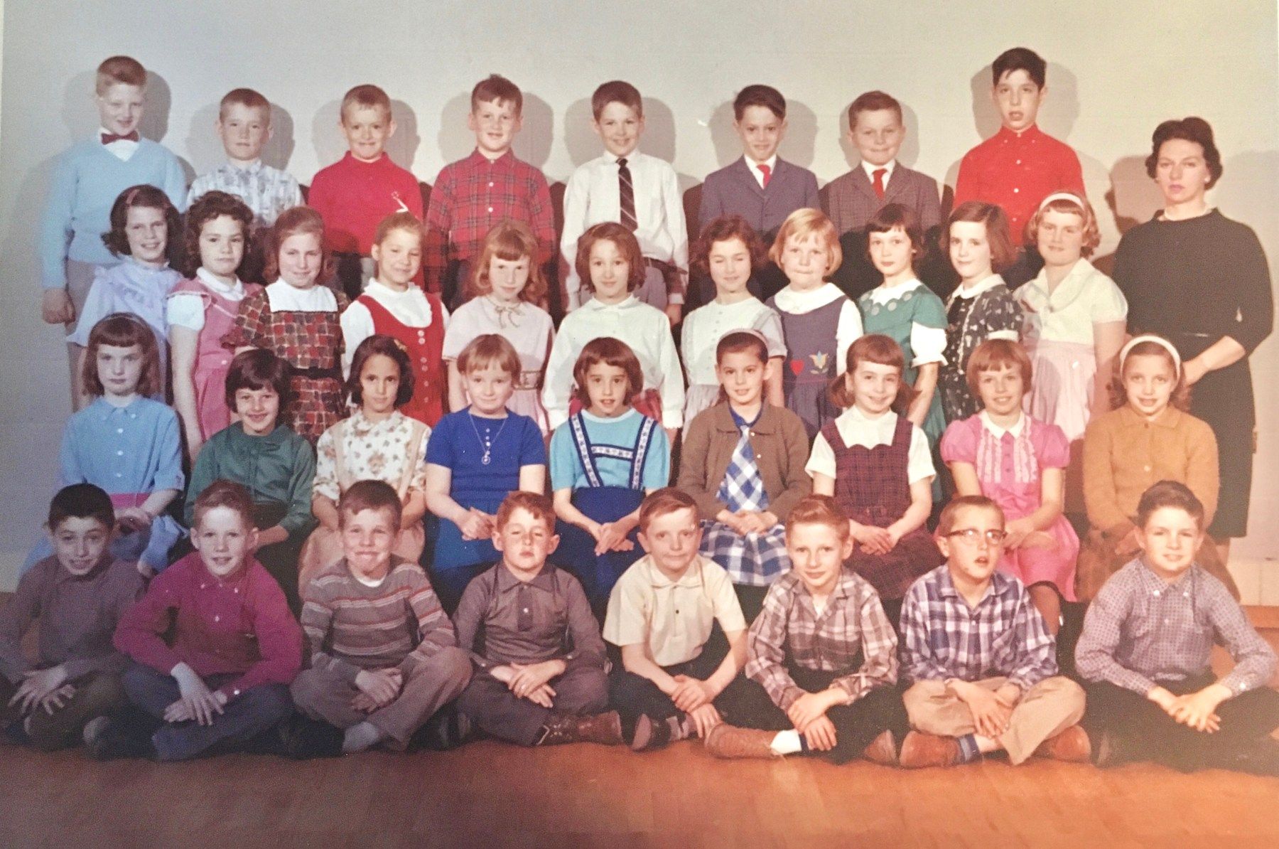 Wildwood School, 1960-1961, grade 2, Miss O'Neil