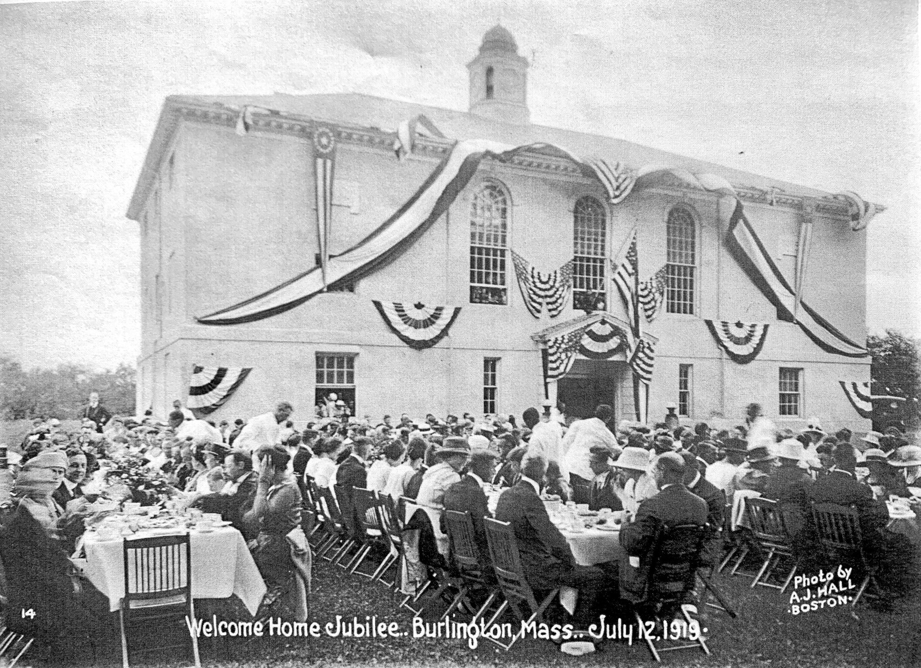 Welcome Home Jubilee July 12 1919, Burlington MA