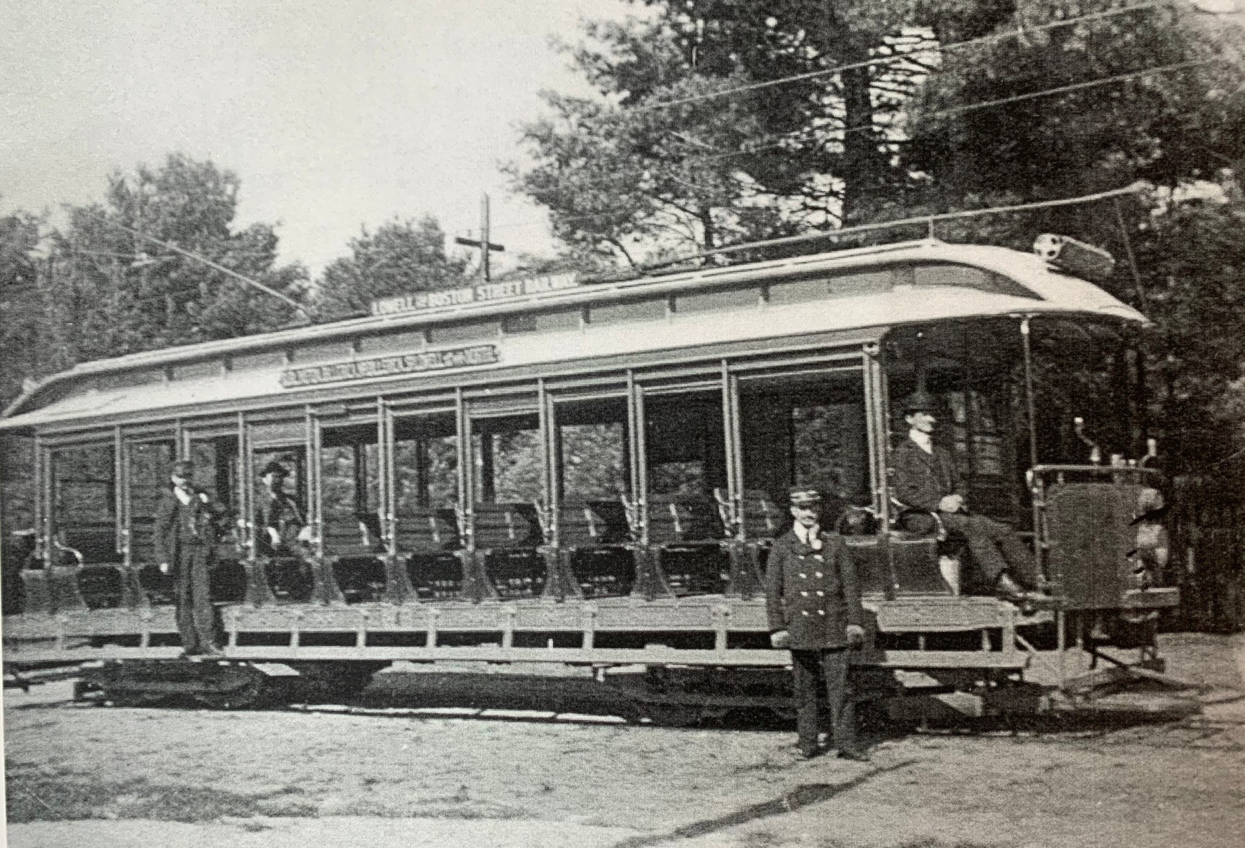 Boston-to-Lowell trolley 2