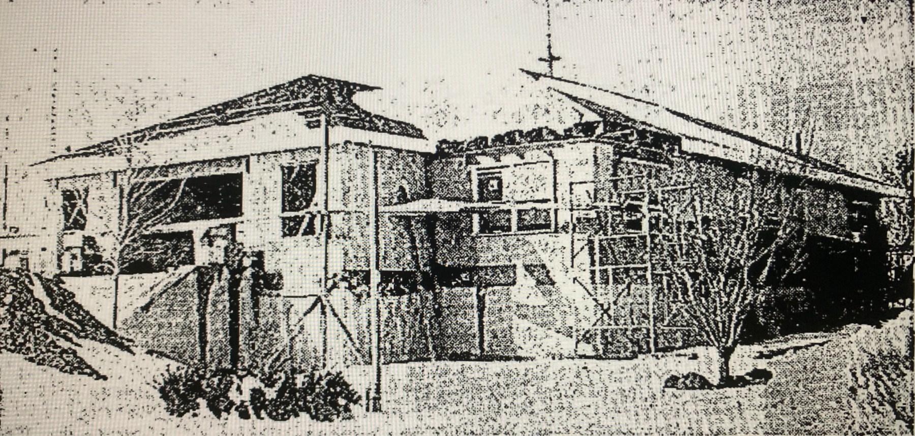 Burlington police station construction 1970 Burlington MA