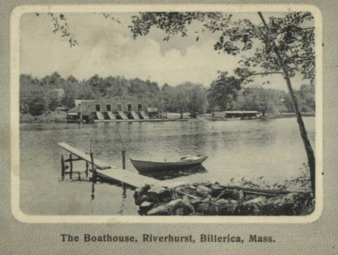 Riverhurst boathouse, Billerica, MA