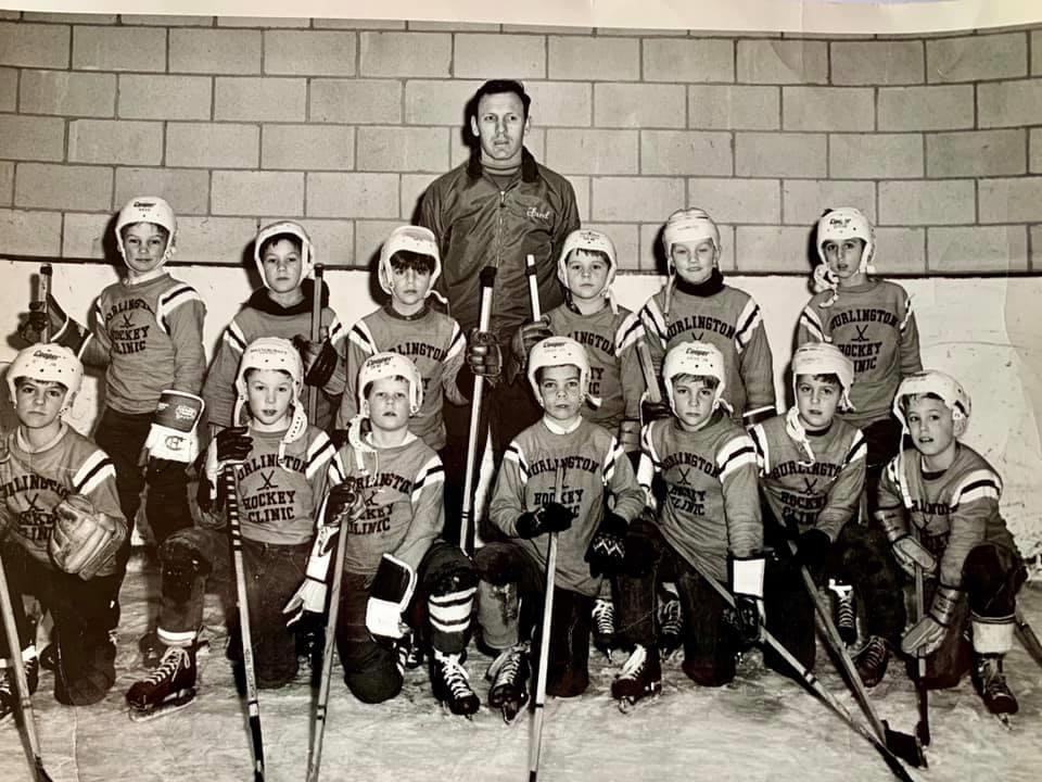 Burlington hockey clinic c. 1969 Burlington MA