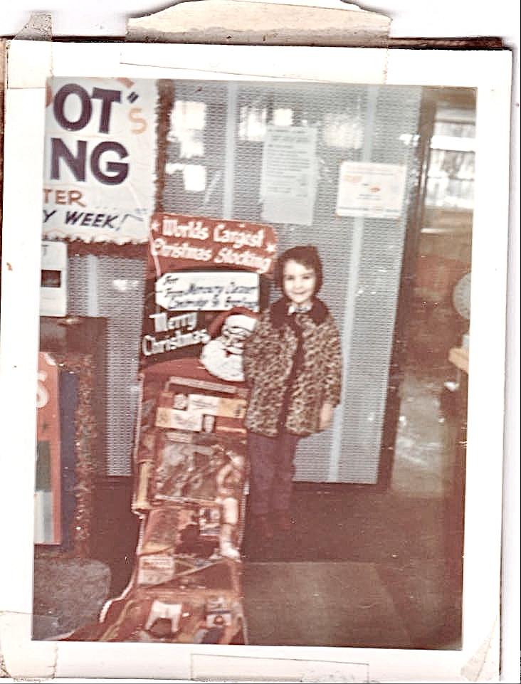 Janet Pero-Hampton, Mercury customer in the late 60s