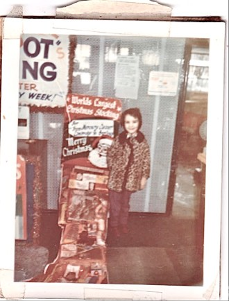 Janet Pero-Hampton, Mercury customer in the late 60s