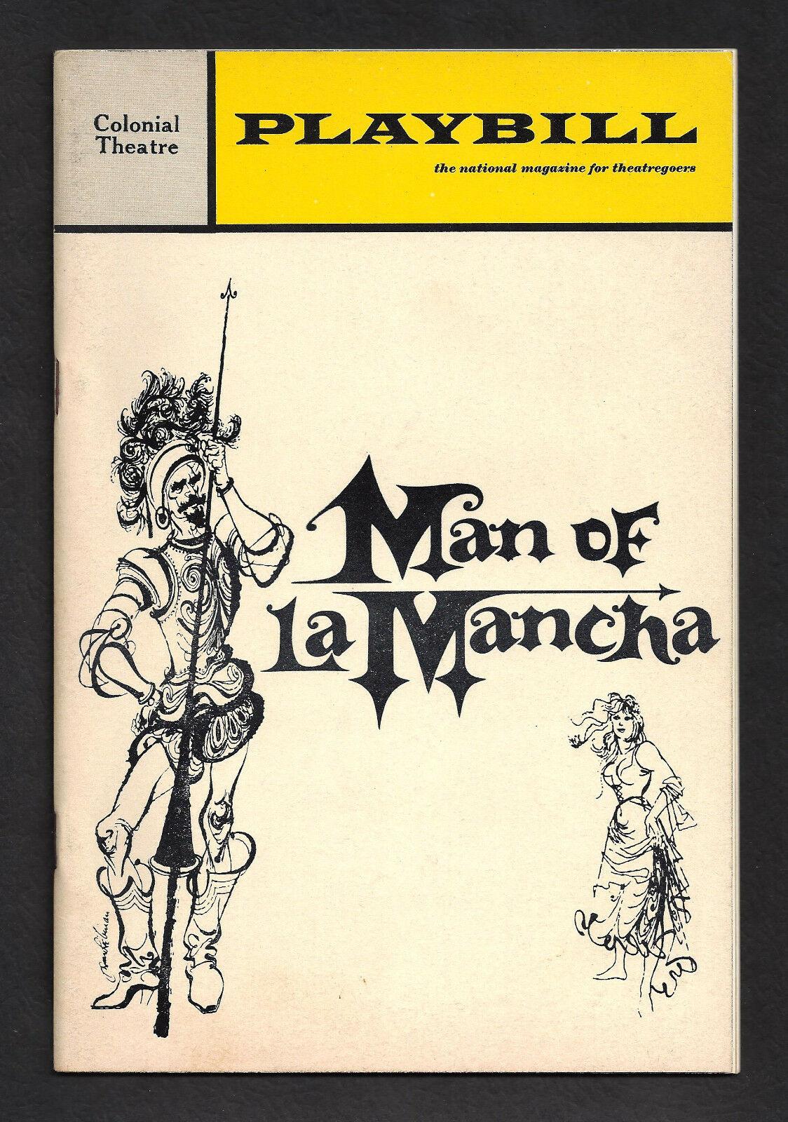 7-La Mancha Playbill