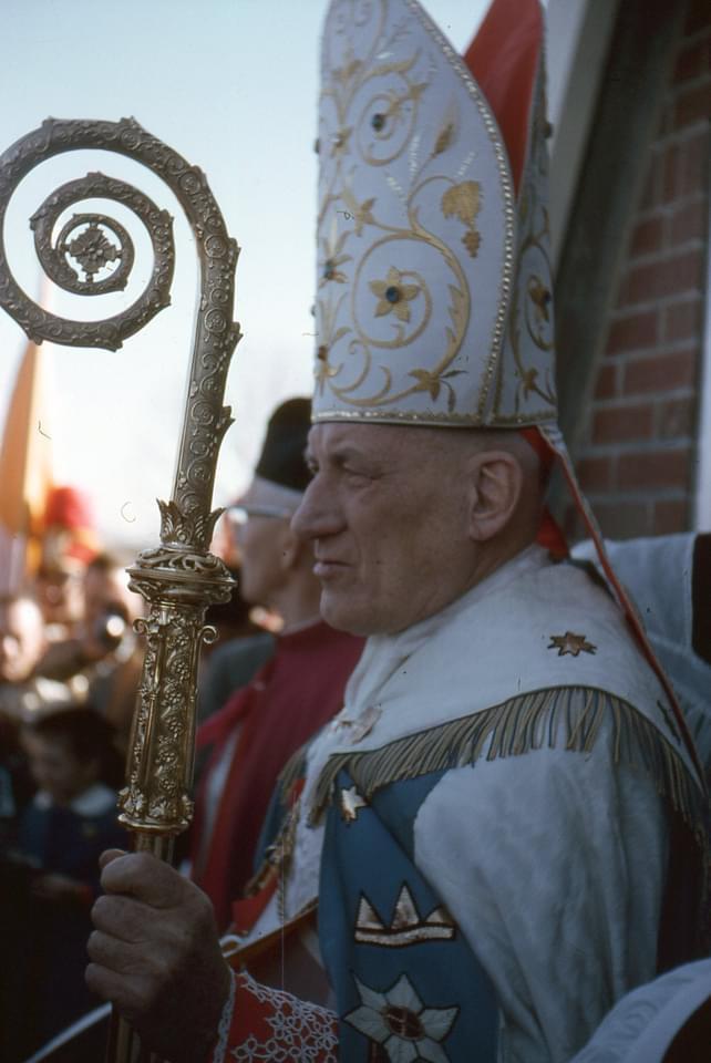 Richard Cardinal Cushing at St. Malachy's
