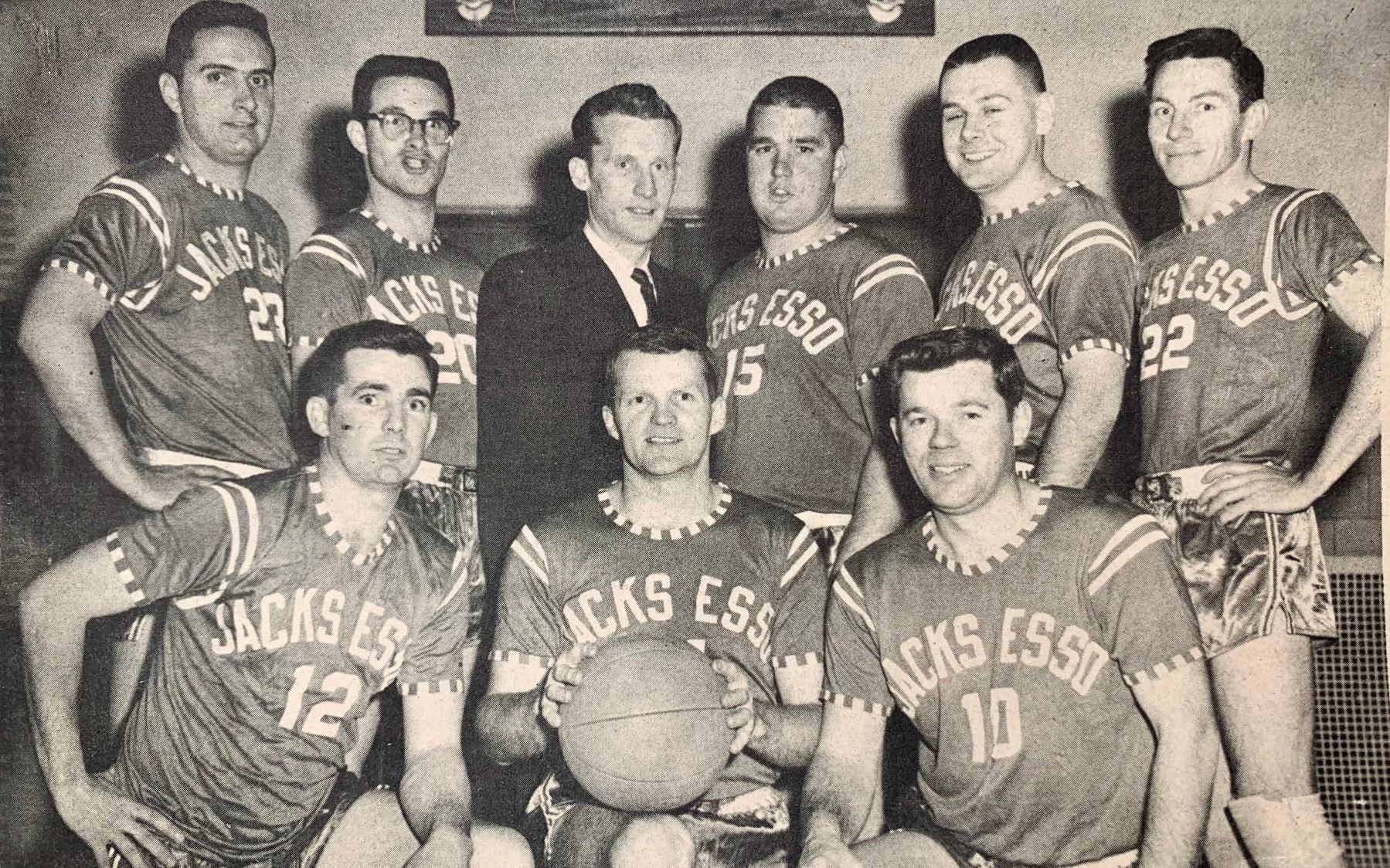 Jack Kilmartin's sponsored basketball team Burlington MA