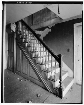 William H. Winn house stairway, Burlington MA