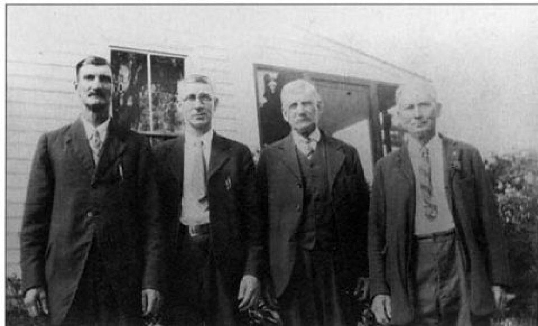 Bradford Skelton's four boys, Burlington MA