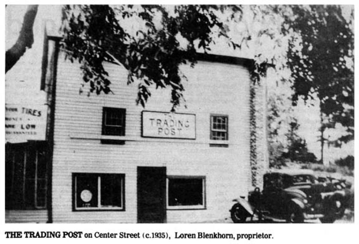 The Trading Post on Center Street, Burlington MA