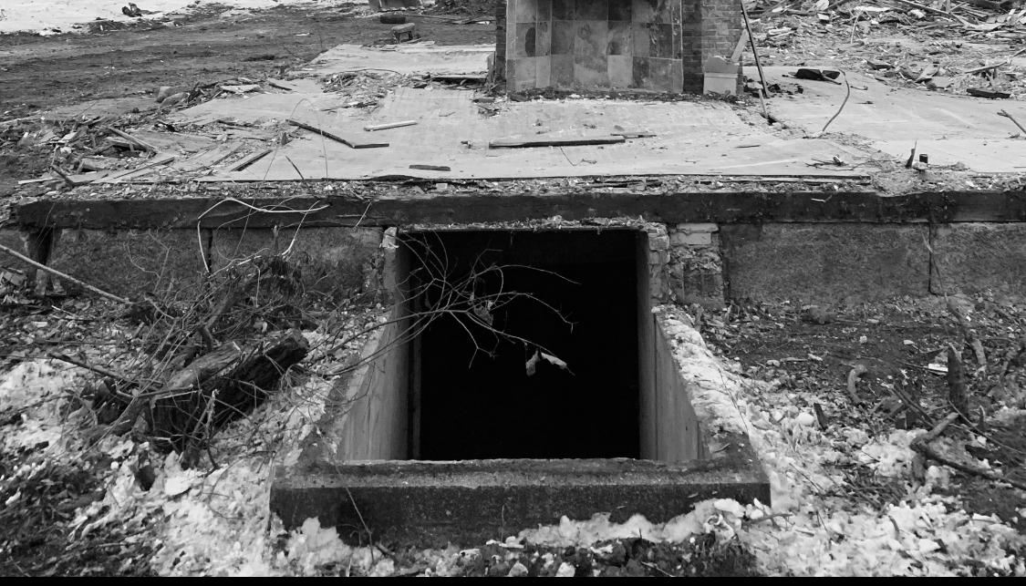 121 Lexington Street chimney and basement