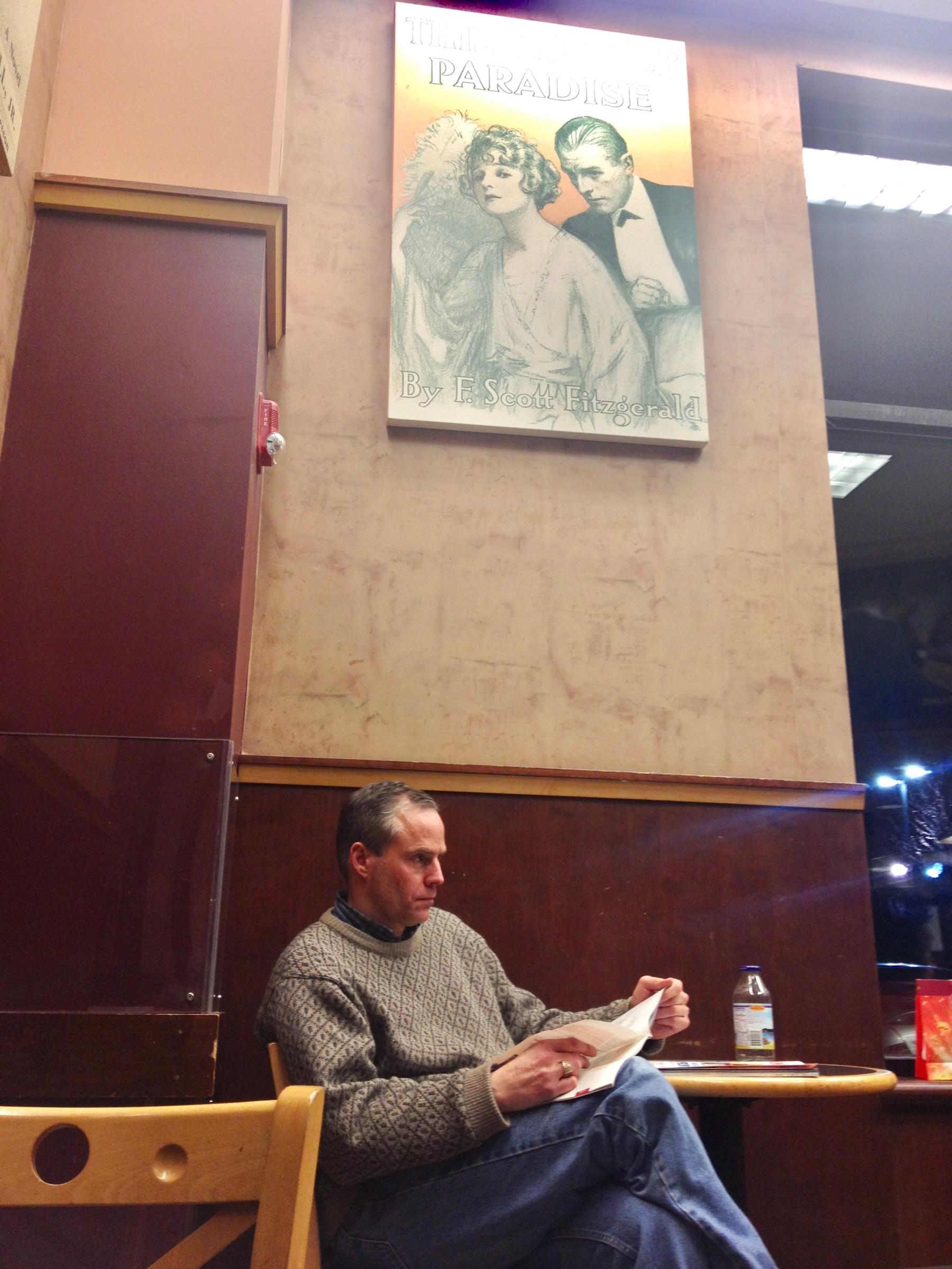 Barnes & Noble cafe guy, Burlington MA