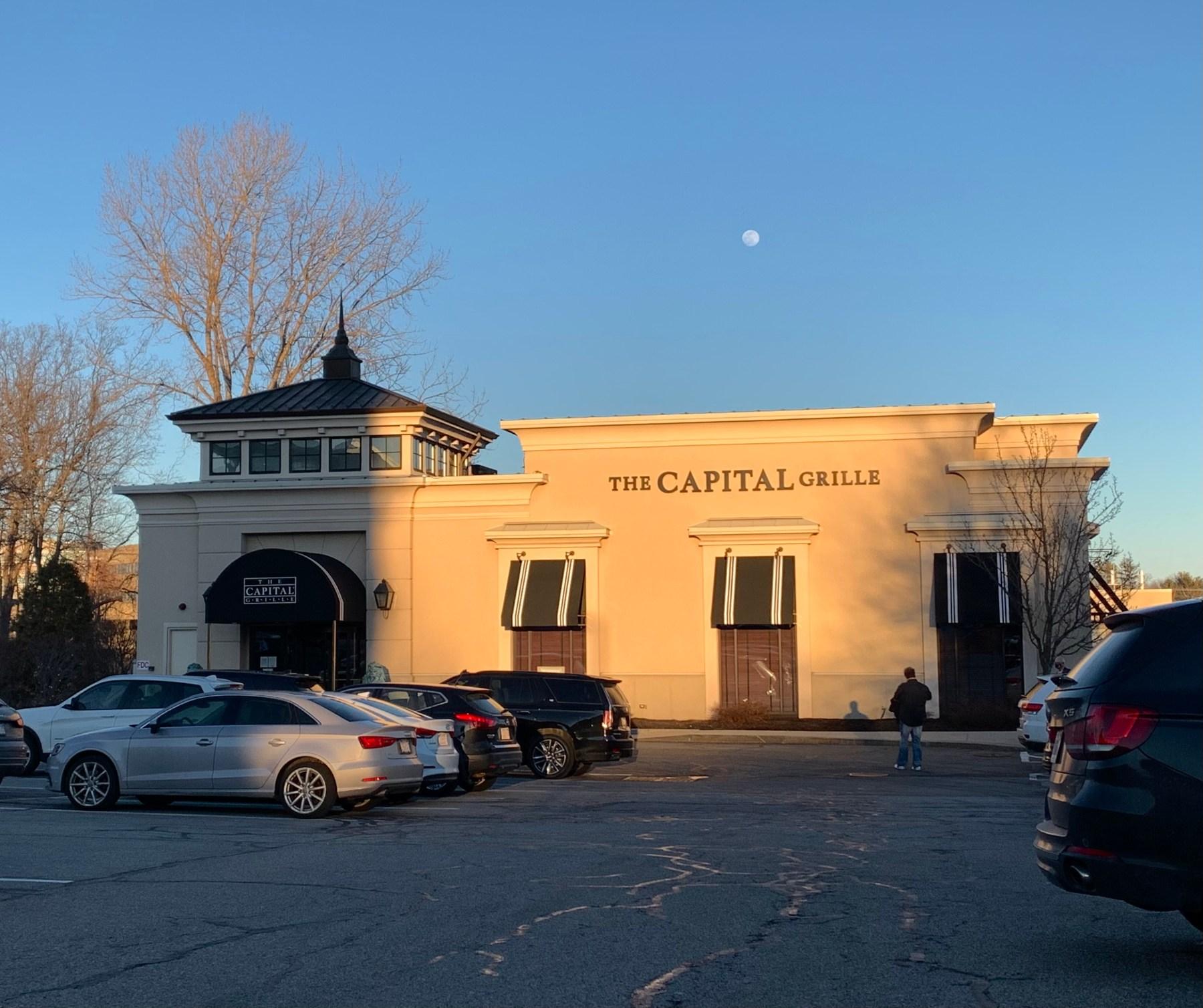 Capital Grille and moon, 10 Wayside Road, Burlington MA