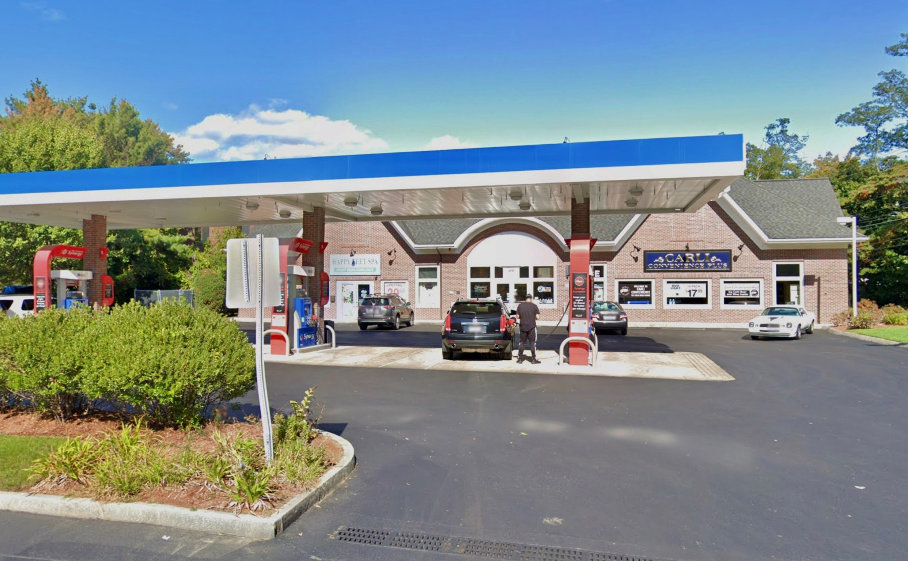 Carli Convenience (Jack Fuccione's gas station), 324 Cambridge Street, Burlington, MA