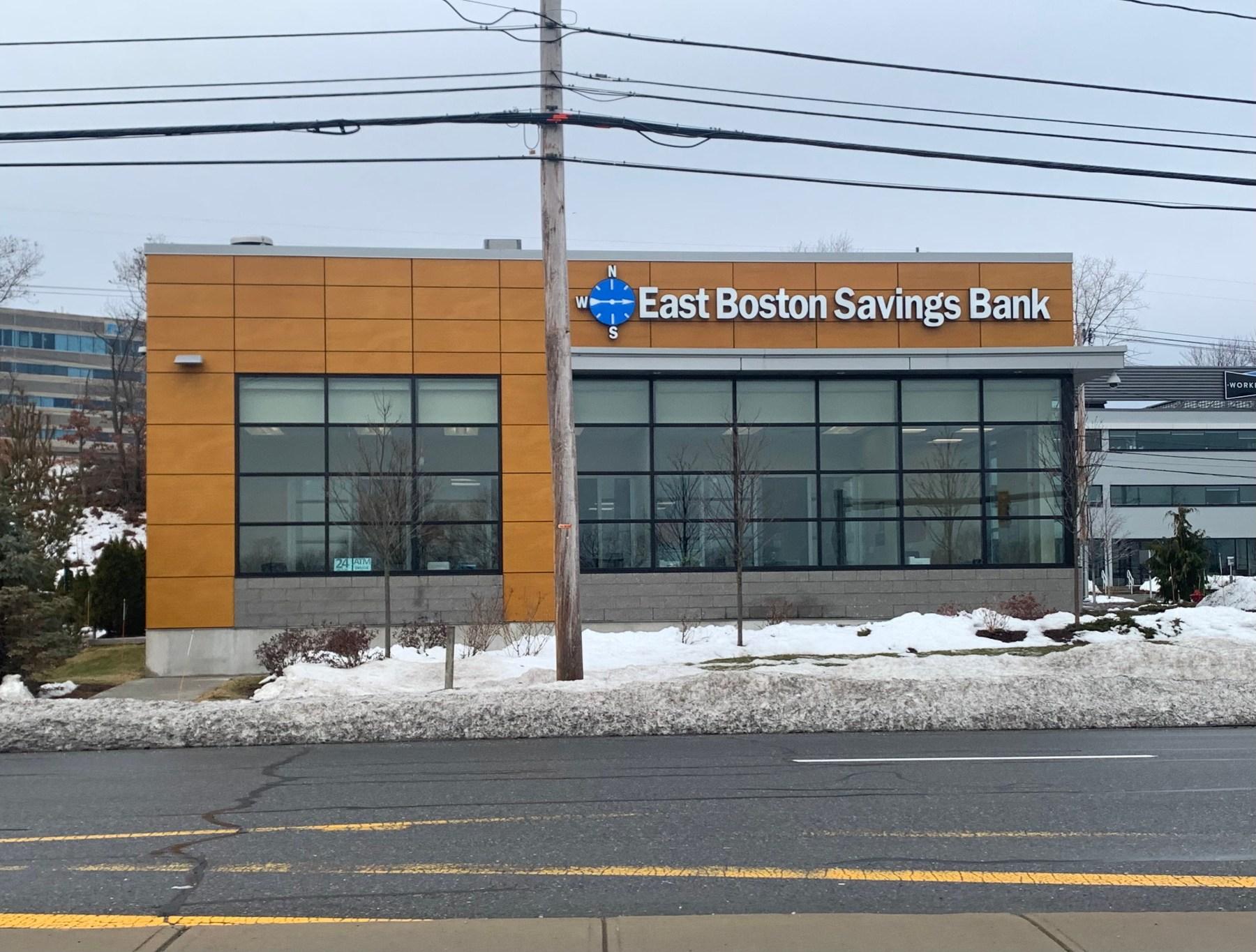 East Boston Savings Bank, 50 Summit Drive, Burlington MA