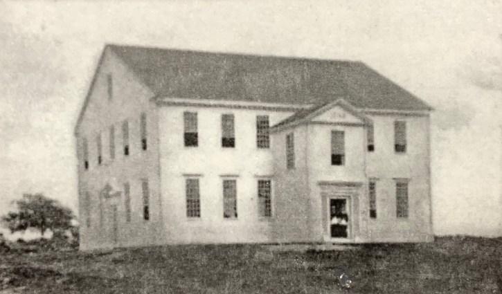 Second Parish Meeting House, 1732