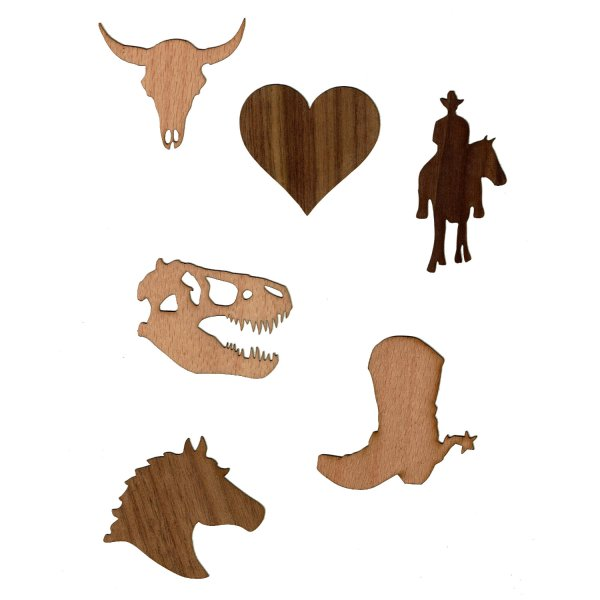 Country Wood Stickers
