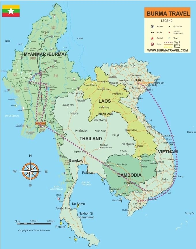 Map-Myanmar-Vietnam-holidays