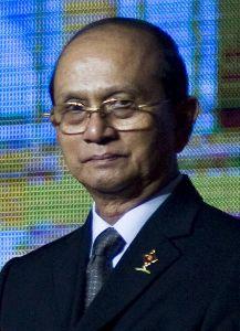မြန်မာနိုင်ငံ သမ္မတ ဦးသိန်းစိန်။ ပုံ (bellenews.com)