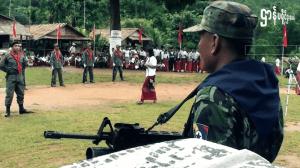 ၆၃ ကြိမ်မြောက် မွန်တော်လှန်ရေးနေ့ ထိုင်း-မြန်မာ နယ်စပ်တစ်နေရာ။