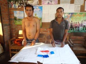 ဖမ်းဆီးရမိသော ရာဘမူးယစ်ဆေးဝါး(၃၉၃) ပြား(IMNA)