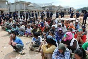 မလေးရှားတွင်ဖမ်းဆီးနေမှု(internet)