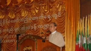 သမ္မတဦးသိန်းစိန်၏ မိန့်ခွန်းပြောကြားချက်တရပ်(သမ္မတရုံးဝဘ်ဆိုဒ်)