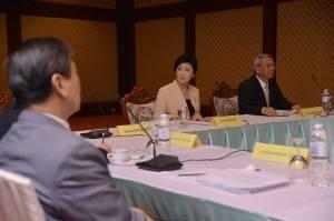 ဝန်ကြီးချူပ် 'ယင်လတ်' (Photo: FB Yingluck Shinawatra)