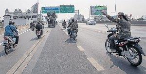 ဘန်ကောက်အမြန်လမ်းမကြီးပေါ် ယနေ့မြင်ကွင်း (Bangkok Post)