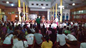 အံဒင်ကျေးရွာဒေသခံများနှင့် ဆွေးနွေးကြစဉ်(Facebook)