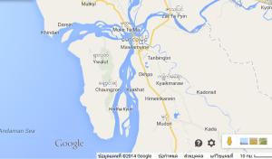မော်လမြိုင်-ဘီလူးကျွန်း Google Map မှမြင်တွေ့ရပုံ(Copy)