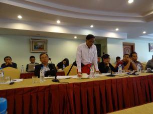 NCCT နှင့် CSO အဖွဲ့များတွေ့ဆုံပွဲ (ကိုအောင်ထူး)