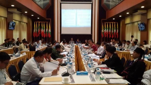 NCCT-UPWC ၆ ကြိမ်မြောက် ဆွေးနွေးပွဲ(Nyo Ohn Myint)