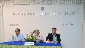တိုင်းရင်းသားလက်နက်ကိုင်ထိပ်သီးဆွေးနွေးပွဲသဘာပတိ နိုင်ထောမွန်(အလယ်လူ)- Internet-