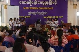 မွန်အမျိုးသမီးနေ့အခမ်းအနား(Internet)