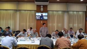 UPWC နှင့် တိုင်းရင်းသားလက်နက်ကိုင်အဖွဲ့ ၈ ဖွဲ့တွေ့ဆုံဆွေးနွေးစဉ်(MPC)