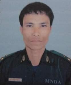 လက်နက်ကိုင်ဓားပြအဖွဲ့ခေါင်းဆောင် မွန်ချမ်း(Internet)