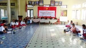 မွန်တစ်မျိူ်းသားလုံးညီညွတ်ရေးစာတမ်းရေးဆွဲရန် ကော်မတီဖွဲ့စည်းစဉ်(MNA)