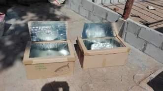 Solar Ovens စမ်းသပ်ပြုလုပ်နေစဉ်(MNA)