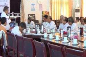မွန်ပြည်နယ်လွှတ်တော်ကိုယ်စားလှယ်သစ်များနှင့် CSO များတွေ့ဆုံစဉ်(MNA)