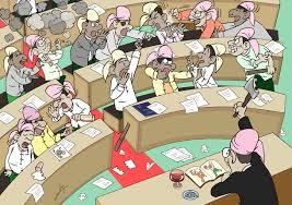 အနာဂတ် မြန်မာ့လွှတ်တော်-ကာတွန်းဟန်လေး(ဒေါင်းတမန်)