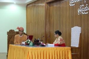 2-မွန်ပြည်နယ်ဝန်ကြီးချုပ်နှင့် လွှတ်တော်ဥက္ကဌ(MNA)