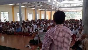 ဖာလိန်တောင် အစီရင်ခံစာ ရှင်းလင်းပွဲ(Facebook)